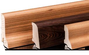Fußleisten Holz leisten wagner